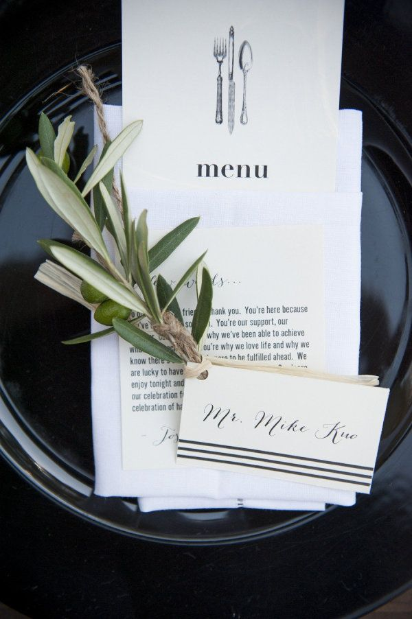 Entice Your Guests with These Lovely Wedding Menu Stationery Ideas - MODwedding