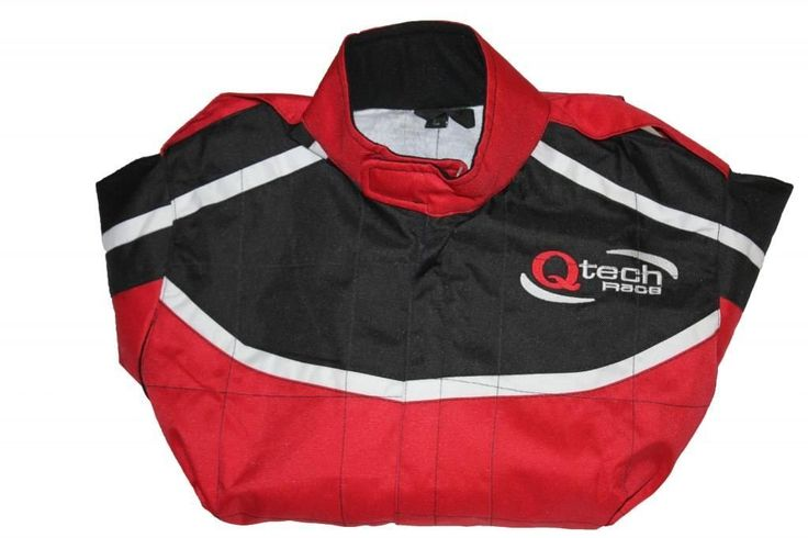 Childrens Kids RACE SUIT Limited Edition Karting Motocross Dirt Bike by Qtech- RED - XL: Amazon.co.uk: Car & Motorbike