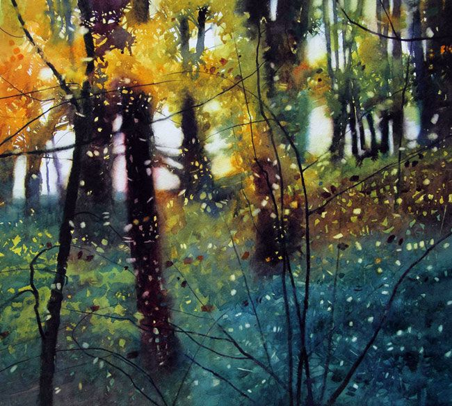 David Parfitt is an exceptional artist that captures the magical effect of light, atmosphere and the beauty of landscapes.