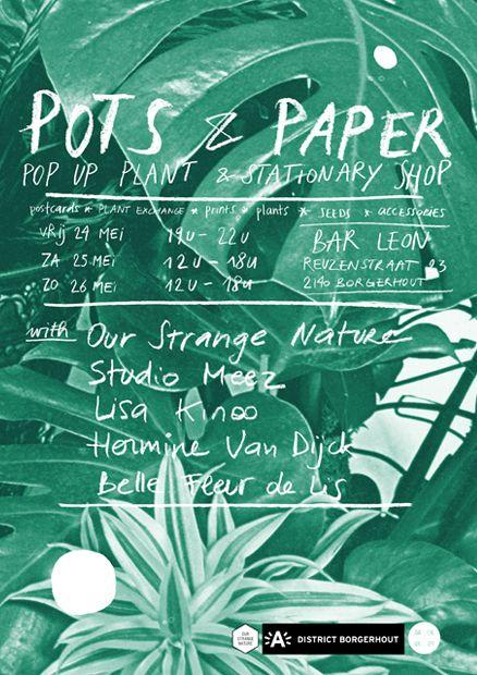 Pots  Paper
