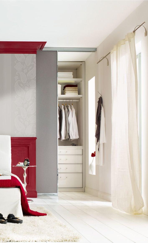 die besten 25 begehbar ideen auf pinterest wohnungsschlafzimmer dachgeschoss schlafzimmer. Black Bedroom Furniture Sets. Home Design Ideas