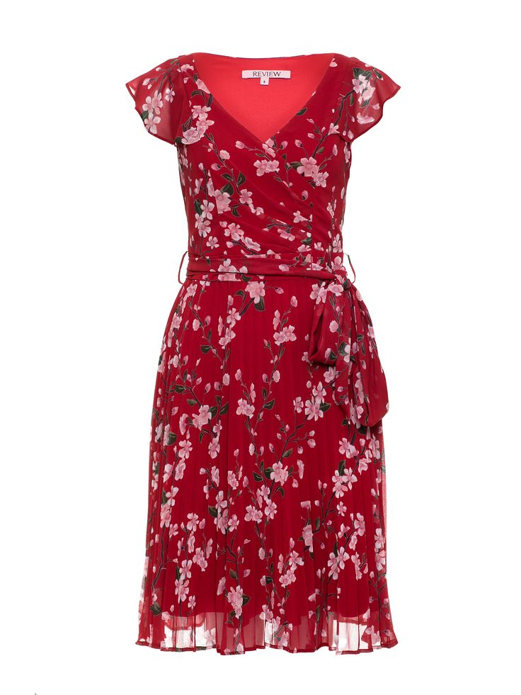 Cherry Sangria Dress | Red/Multi | Dresses