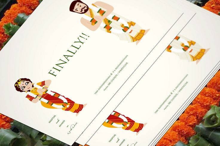 Indian wedding invite on Behance                                                                                                                                                                                 More