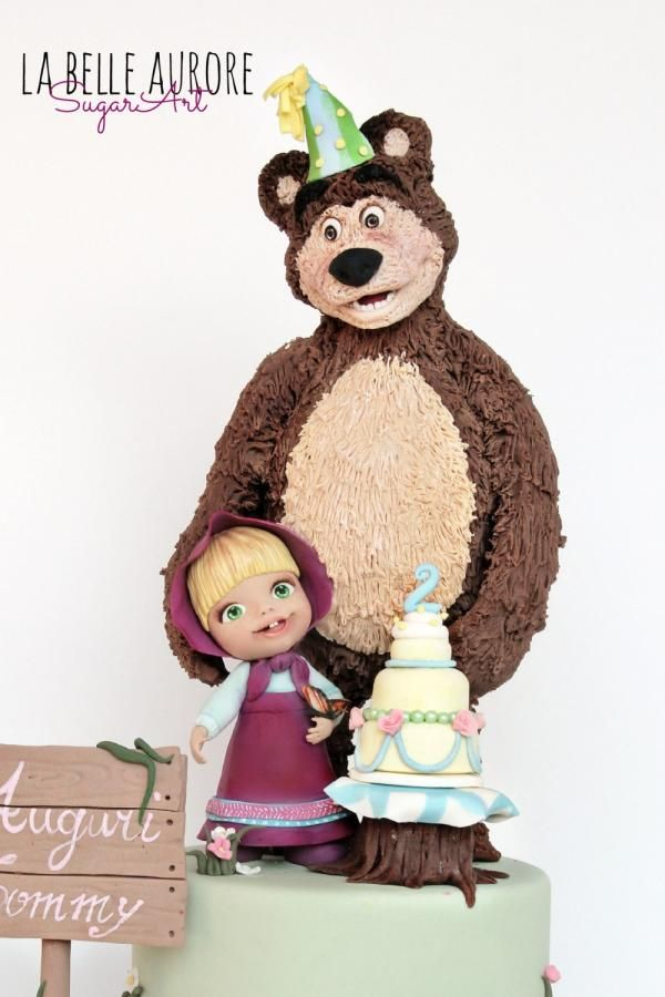 Masha and the Bear - Cake by La Belle Aurore