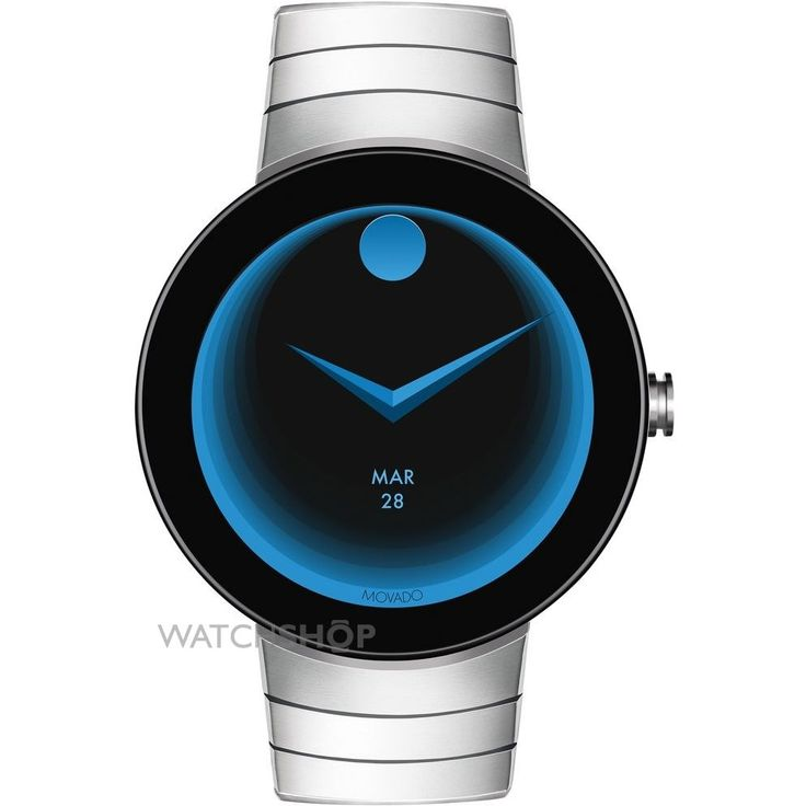 Mens Movado Connect Android Wear Bluetooth Chronograph Watch 3660017
