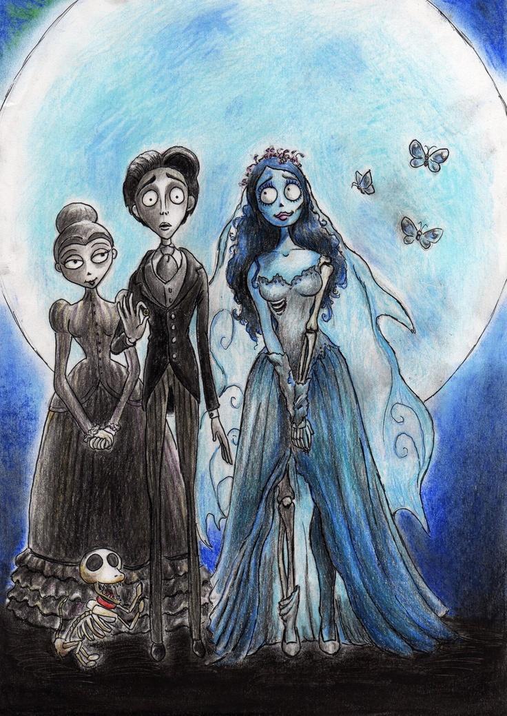 1000 Images About Corpse Bride Fan Art On Pinterest