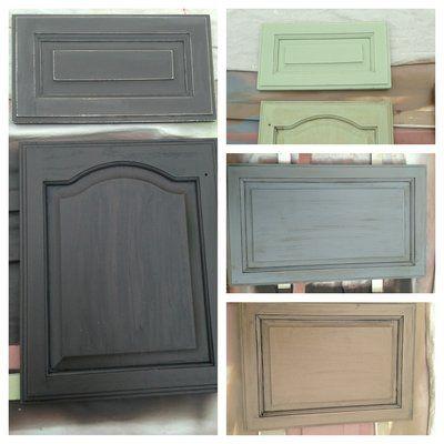 Kitchen Cabinet Doors Finished Glaze Finish Kitchen