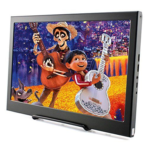 Elecrow 13.3 Inch IPS Raspberry Pi Display 1920X1080 Resolution Dual HDMI Portable Monitor PS3 PS4 Gaming Screen with Build-In Speakers for Raspberry Pi WiiU Xbox 360 Windows 7/8/10 - Elecrow 13.3 Inch 1920X1080 HD LED Display Applications Compatible for PS3 PS4 XBOX360 Raspberry pi, industrial equipment, car audio and video, car headrest, medical equipment display. Specifications Display Technology: LED Display Screen Size: 13.3 inches Aspect ratio: 16: 9 (width: height) Pane...