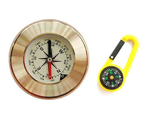 how to read a compass magnetic north