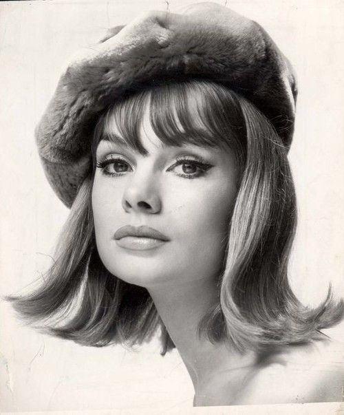 Jean Shrimpton, photo by John French.