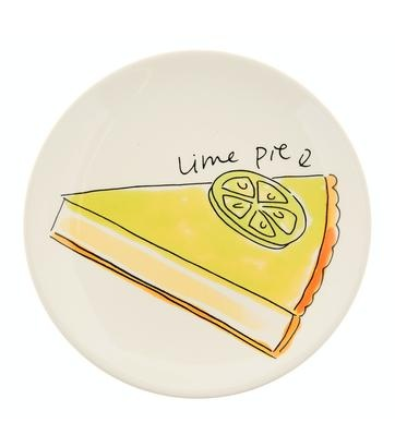 Blond Amsterdam - Lime Pie - Pastry Plate