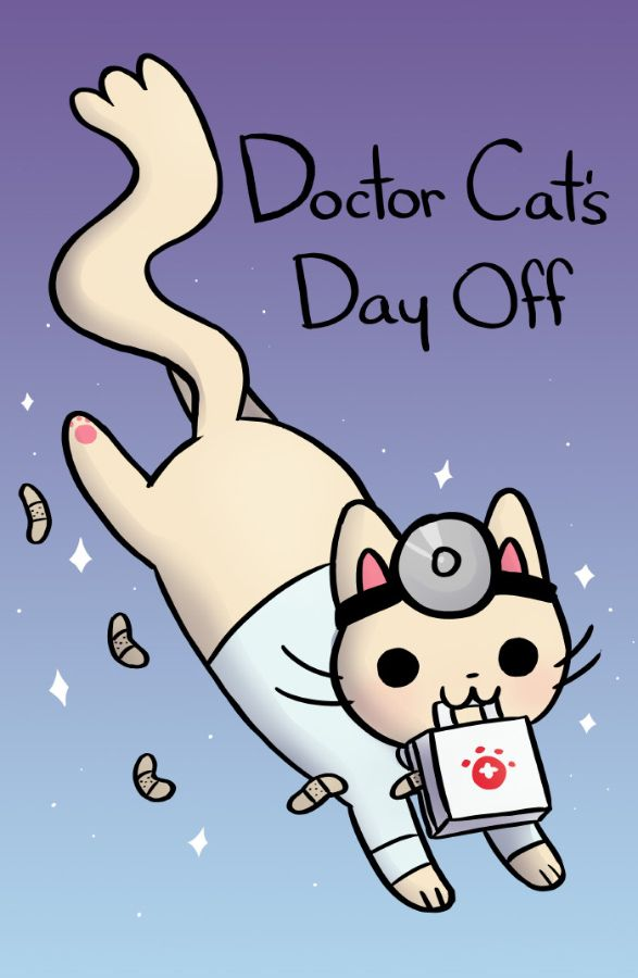 Doctor Cat - a comic about a doctor who is also a cat