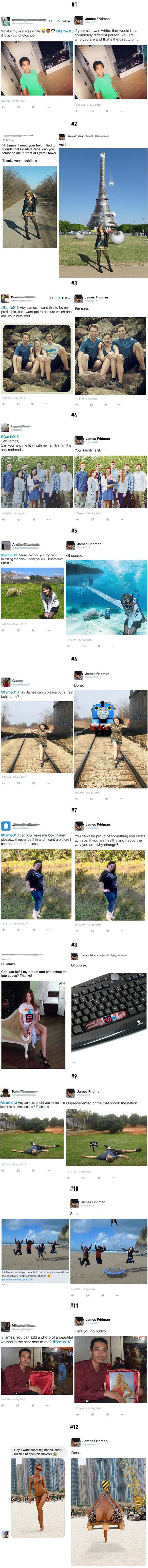 What Happens When You Ask The Wrong Guy For Help (By James Fridman)
