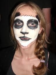 panda face paint