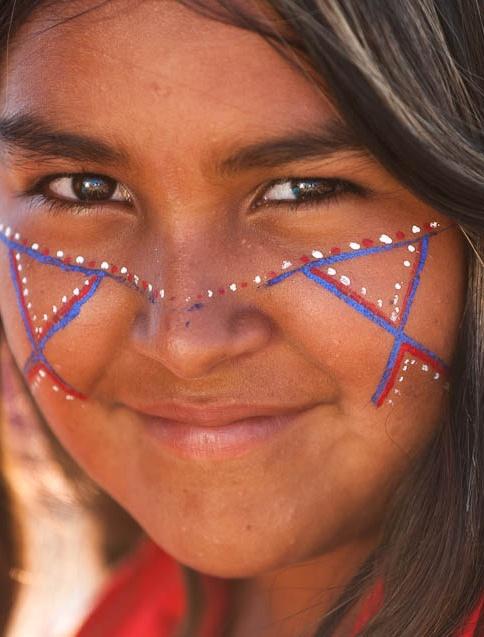 Seri girl. Sonora, México ©Jose del Rio