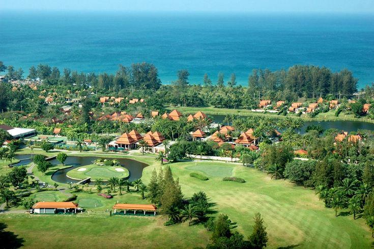 Resort territory at Banyan Tree Phuket, Thailand
