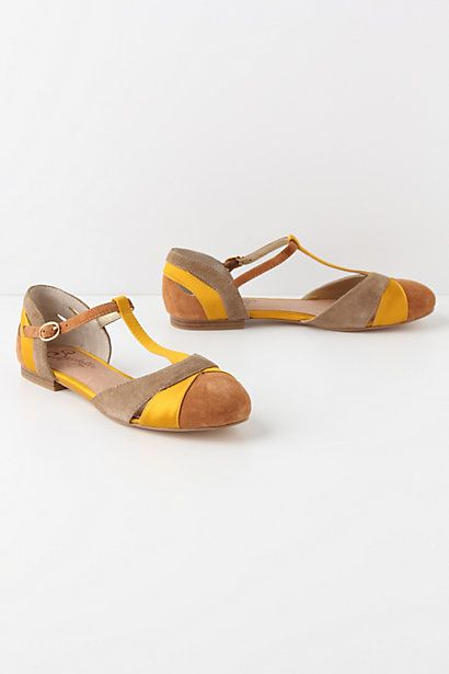 Ilk T-Straps #anthropologie
