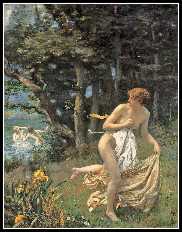 "►Greek Mythology: ""Artemis, The Goddess of Hunting"" / Poem: ""Ode to Artemis"", by Irina Dimitric.- 