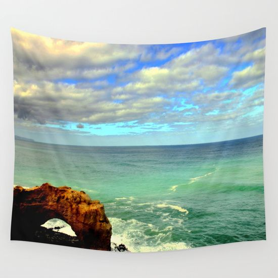 Seascapes, Oceans, Sea, Limestone Rocks, Limestone Formations, Sky, Horizon, Headlands, Australia.