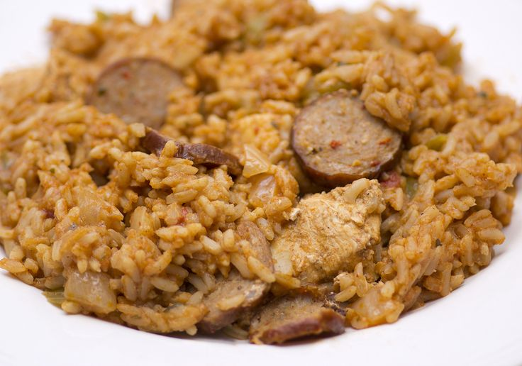 Jambalaya, a Cajun/Creole dish, is perhaps the most versatile main dish that Louisiana has to offer. The most important thing with this dish is to use the right equipment; any heavy bottomed cast iron pot or Dutch oven.