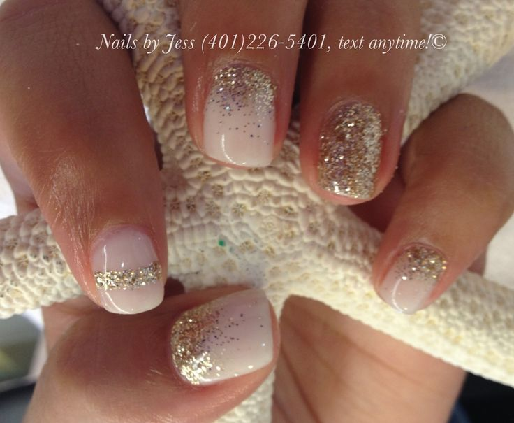 Gel manicure by Jess at naturally nails in RI!! (401)226-5401, text for an appt.