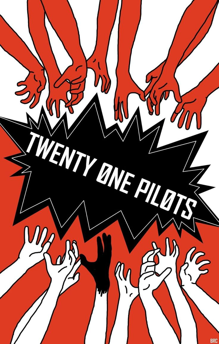 Mini Print of Twenty One Pilots D