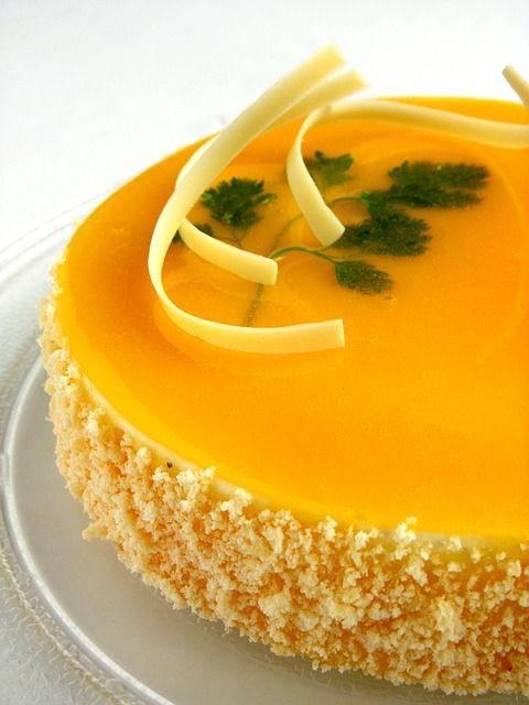 PAY DE MANGO / TORTA FRIA   http://www.revistatodolochic.com/pie-de-mango/  pie de mango