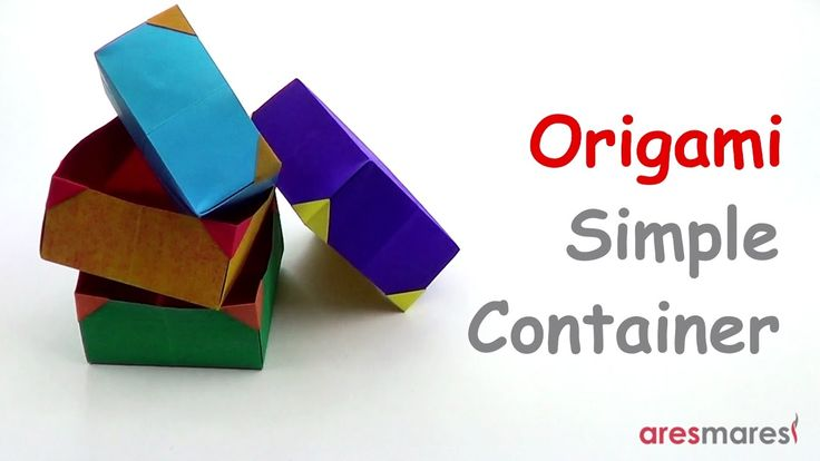 Origami Simple Box - Container (easy - single sheet) Sometimes simple things are also the most useful!!! #origami #unitorigami #howtomake #handmade #colorful #origamiart #diy #doityourself #paper #papercraft #handcraft #paperfolding #paperfold #paperart #papiroflexia #origamifolding #instaorigami #interior #instapaper #craft #crafts #creative #hobby #оригами #折り紙 #ユニット折り紙 #ハンドメイド #カラフル #종이접기 #اوريغامي