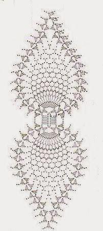 схема вязания крючком прихватки клубника