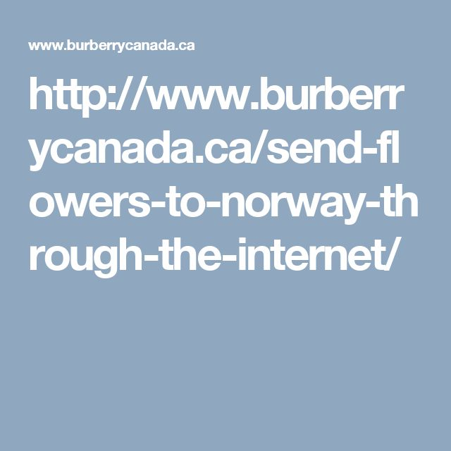 http://www.burberrycanada.ca/send-flowers-to-norway-through-the-internet/
