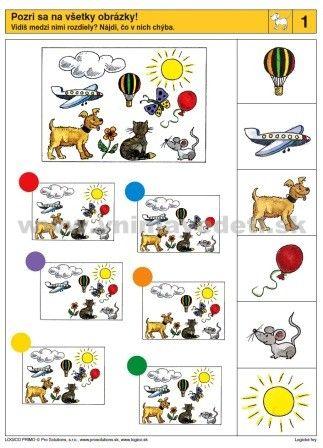 Logico Primo Logické hry - autokorektívne karty
