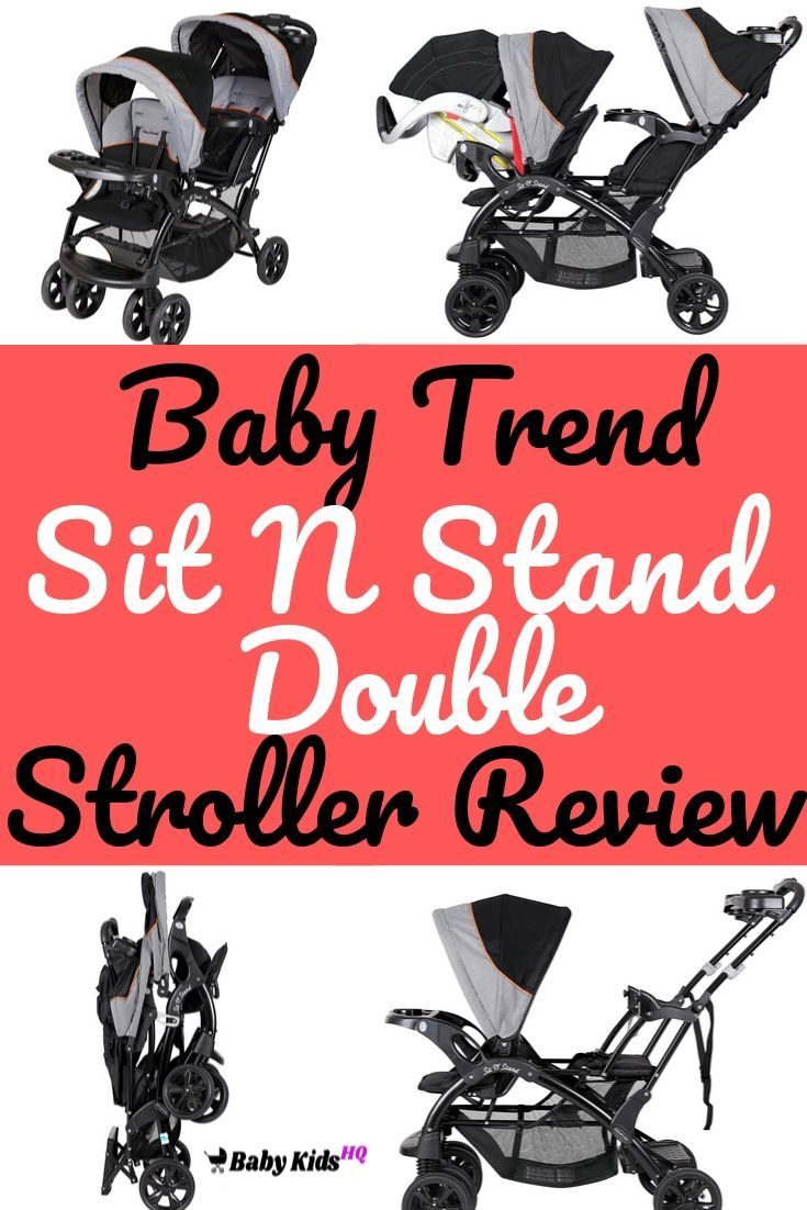 Baby Trend Sit N Stand Double Stroller Review 2020