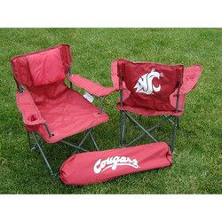 Washington State Cougars NCAA Ultimate Junior Tailgate Chair