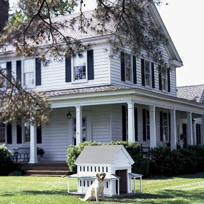 a greek revival style doghouse house plans farmhouse. Black Bedroom Furniture Sets. Home Design Ideas
