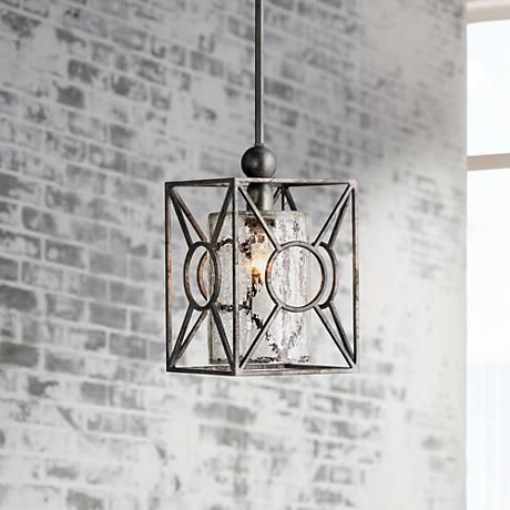 POSSIBILITY FOR BEDSIDE PENDANT????Arbela One Light Mini Pendant by Uttermost Lighting