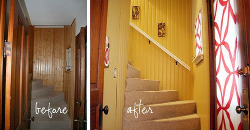 House Tour The Bungalow Paneling Makeover Wood