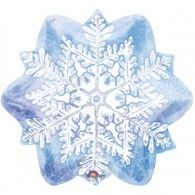 Let it Snow Snowflake Foil $9.50 (Inflated) U111010
