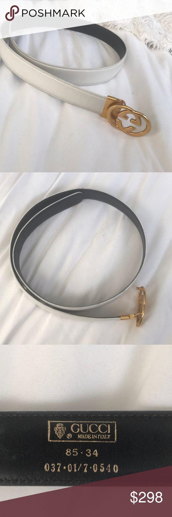 """Reversible authentic gucci belt size 31""""-33"""" Reversible black and white authentic gucci belt size 31""""-33"""" Gucci Accessories Belts"""
