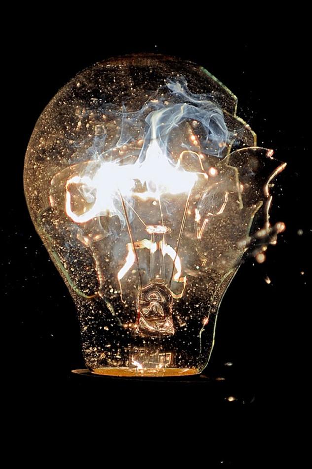Exploding Light Bulb 118