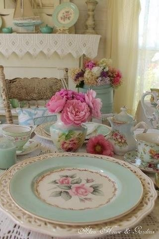 208 best images about cottagedining rooms on PinterestTea