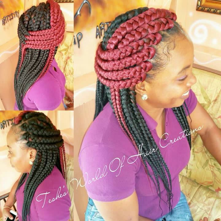 Braids Days Teshe World Hair Creations All