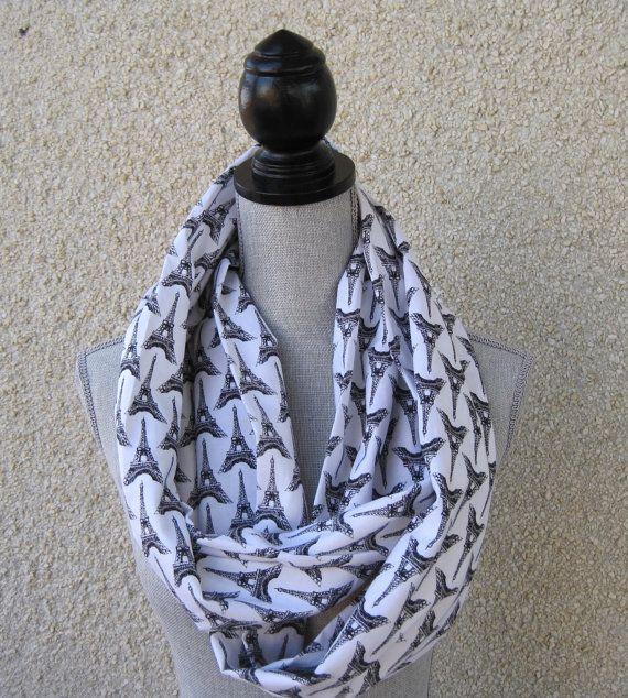 Infinity scarf tube scarf eternity scarf loop by FootlessDesigns, $20.00