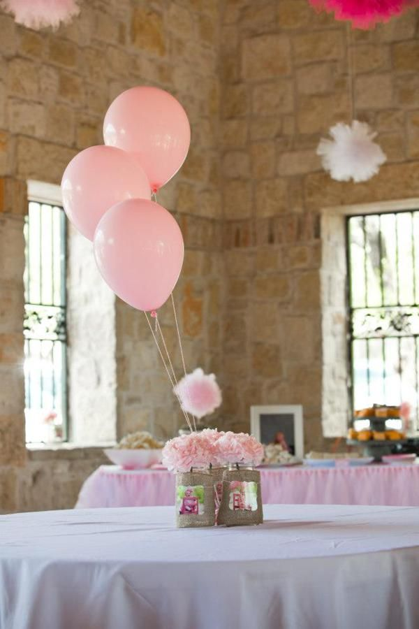 Girl Sweet Themed Pink 1st Birthday Party
