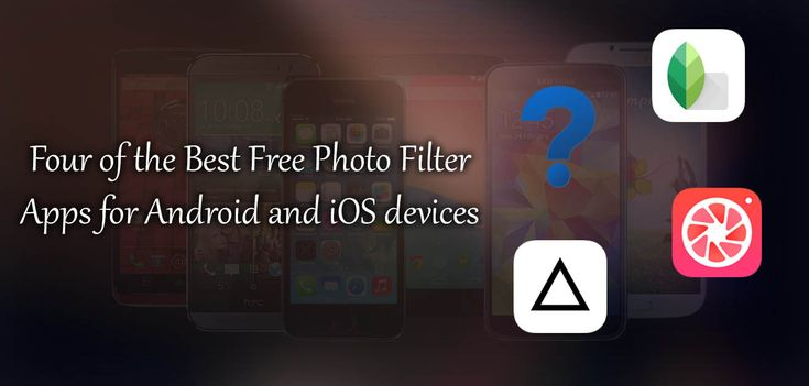 Four of the Best Free Photo Filter Apps for Android and iOS devices. #prisma #pomelo #nofilter #android #ios +Downloadsource.net
