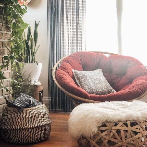 Plush Red Papasan Cushion Pier 1 Papasan Chair Living Room Red Chair Living Room Blue Dining Room Chairs #pier #1 #living #room #chairs