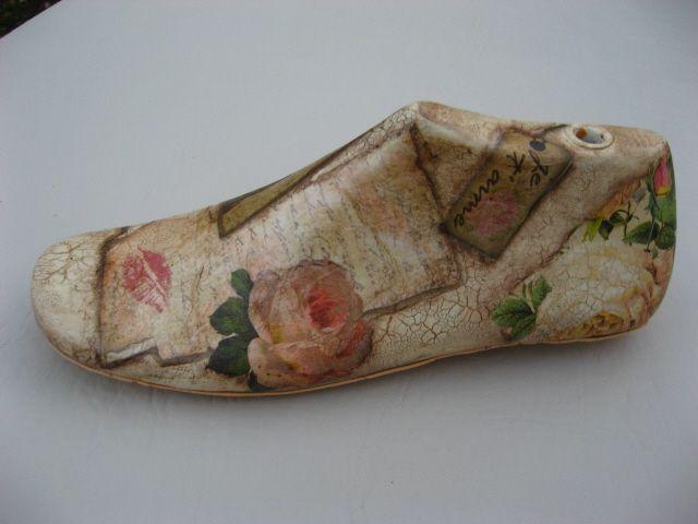 hormas de zapatos pintadas a mano - Buscar con Google