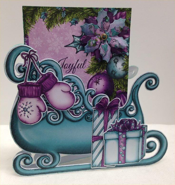 A Sleigh card..