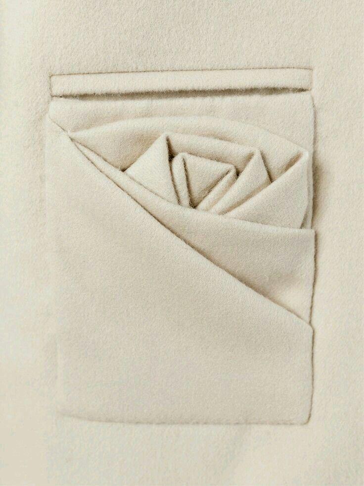 Drapping pocket