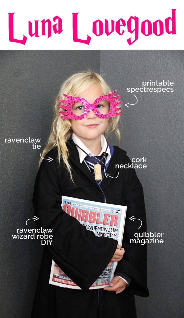 Luna Lovegood Costume DIY
