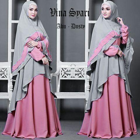 Gamis Syar'i Cantik Vina (085838867346 WA)